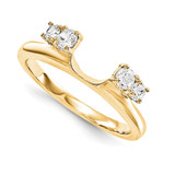 Engagement Ring Guard Wrap 14k Yellow Gold Diamond, MPN: YM915-1AA