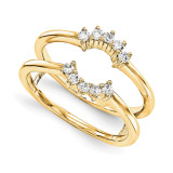 Engagement Ring Guard Wrap 14k Yellow Gold Diamond Guard, MPN: YM916-1AA
