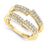 Engagement Ring Guard Wrap 14k Yellow Gold Diamond Guard, MPN: YM917-1AA