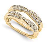 Engagement Ring Guard Wrap 14k Yellow Gold Diamond Guard, MPN: YM920-1AA