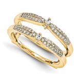Engagement Ring Guard Wrap 14k Yellow Gold Diamond Guard, MPN: YM922-1AA