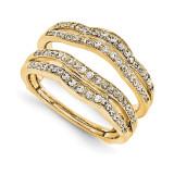 Engagement Ring Guard Wrap 14k Yellow Gold Diamond Guard, MPN: YM925-1AA