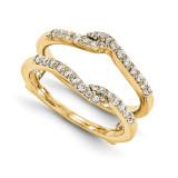 Engagement Ring Guard Wrap 14k Yellow Gold Diamond Guard, MPN: YM926-1AA