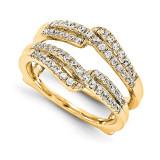 Engagement Ring Guard Wrap 14k Yellow Gold Diamond Guard, MPN: YM928-1AA