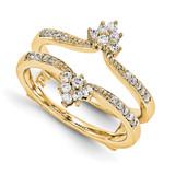 Engagement Ring Guard Wrap 14k Yellow Gold Diamond Guard, MPN: YM930-1AA