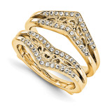 Engagement Ring Guard Wrap 14k Yellow Gold Diamond Guard, MPN: YM931-1AA