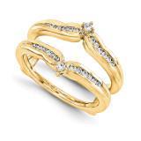 Engagement Ring Guard Wrap 14k Yellow Gold Diamond Guard, MPN: YM932-1AA