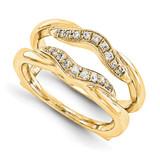 Engagement Ring Guard Wrap 14k Yellow Gold Diamond Guard, MPN: YM934-1AA