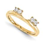 Engagement Ring Guard Wrap 14k Yellow Gold Diamond, MPN: YM937-1AA