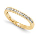 Wedding Set Mounting Ring Band Peg Set 14k Yellow Gold Diamond, MPN: YM940-1AA