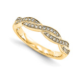 Wedding Set Mounting Ring Band Prong Set Round 14k Yellow Gold Diamond, MPN: YM954-1AA