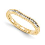 Wedding Set Mounting Ring Band Peg Set 14k Yellow Gold Diamond, MPN: YM959-1AA
