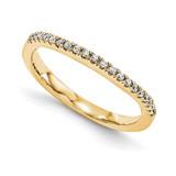 Wedding Set Mounting Ring Band Prong Set Round 14k Yellow Gold Diamond, MPN: YM963-1AA