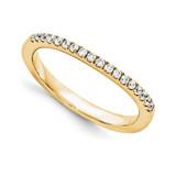 Halo Wedding Set Mounting Ring Band Prong Set Round 14k Yellow Gold Diamond, MPN: YM970-1AA