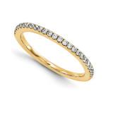 Wedding Set Mounting Ring Band Prong Set Round 14k Yellow Gold Diamond, MPN: YM974-1AA