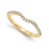 Halo Wedding Set Mounting Ring Band Prong Set Round 14k Yellow Gold Diamond, MPN: YM982-1AA
