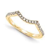 Wedding Set Mounting Ring Band Peg Set 14k Yellow Gold Diamond, MPN: YM992-1AA