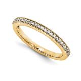 Halo Wedding Set Mounting Ring Band Prong Set Princess 14k Yellow Gold Diamond, MPN: YM994-1AA