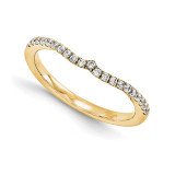 Wedding Set Mounting Ring Band Peg Set 14k Yellow Gold Diamond, MPN: YM996-1AA