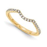 Halo Wedding Set Mounting Ring Band Prong Set Round 14k Yellow Gold Diamond, MPN: YM998-1AA