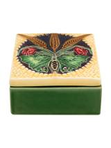 Bordallo Pinheiro Arte Bordallo Decorated Box Butterflies MPN: 65007155 EAN: 5600876076885