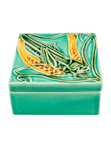 Bordallo Pinheiro Arte Bordallo Decorated Box Grasshopper MPN: 65014032 EAN: 5600876077264