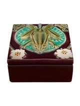 Bordallo Pinheiro Arte Bordallo Decorated Box Large Frog MPN: 65007156 EAN: 5600876076830