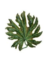 Bordallo Pinheiro Arte Bordallo Decorated Chestnut Tree Leaf MPN: 65003876 EAN: 5600876076854
