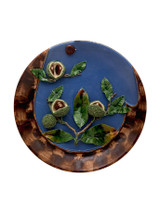 Bordallo Pinheiro Arte Bordallo Decorated Large Plate with Chestnuts MPN: 65004101 EAN: 5600876077165