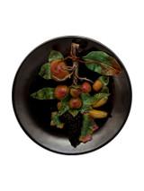 Bordallo Pinheiro Arte Bordallo Decorated Large Plate with Fruits MPN: 65004108 EAN: 5600876077288