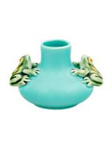 Bordallo Pinheiro Arte Bordallo Decorated Medium Vase Two Frogs MPN: 65003935 EAN: 5600876076762