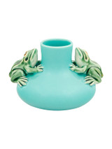 Bordallo Pinheiro Arte Bordallo Decorated Small Vase Two Frogs MPN: 65003932 EAN: 5600876076786