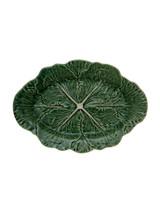 Bordallo Pinheiro Cabbage Green Natural Oval Platter MPN: 65000748 EAN: 5600876077714