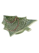 Bordallo Pinheiro Christmas  Green Red Bowl Christmas Tree MPN: 65002083 EAN: 5600876072047