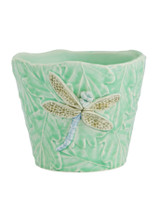 Bordallo Pinheiro Garden of Insects Decorated Vase with Dragonfly MPN: 65019403 EAN: 5600413600344