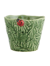 Bordallo Pinheiro Garden of Insects Decorated Vase with Ladybug MPN: 65019402 EAN: 5600413600337