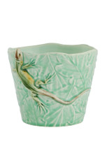 Bordallo Pinheiro Garden of Insects Decorated Vase with Lizard MPN: 65019404 EAN: 5600413600351