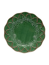 Bordallo Pinheiro Hunting Green Brown Dinner Plate MPN: 65002449 EAN: 5600876079688