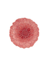 Bordallo Pinheiro Maria Flor Decorated Fruit Plate Dahlia MPN: 65021878 EAN: 5600413606100