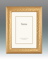 Tizo Hammered Up Gold-plated Picture Frame 5 x 7 Inch, MPN:  3291GLD-57