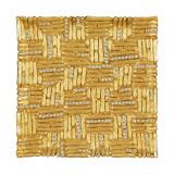 Tizo Antique Modern Coaster Square Gold, MPN:  RS408GLCO