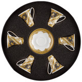 Versace I Love Baroque  AD Cup and Saucer Set Six Round Hat Box, MPN: 19325-403651-29254, UPC: 790955021839
