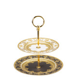 Versace I Love Baroque  Etagere Small 2 Tiers 7 & 8 1/2 Inch, MPN: 19325-403651-25316, UPC: 790955022010