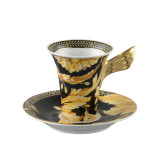 Versace Vanity Coffee Cup and Saucer 6 Inch 6 oz., MPN: 19300-403608-14740, UPC: 790955331136