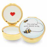 Halcyon Days Bee Enamel Box, MPN: ENBEE0501G