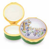 Halcyon Days February Enamel Box, MPN: ENMFE0901G