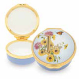 Halcyon Days July Enamel Box, MPN: ENMJU1301G