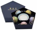 Halcyon Days CoM Shell Garden Floral Tea Cup & Saucer Box Set, MPN: BCCSG01T5G