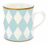 Halcyon Days Parterre Blue Mug , MPN: BCPAR12MGG