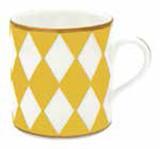 Halcyon Days Parterre Yellow Mug, MPN: BCPAR20MGG